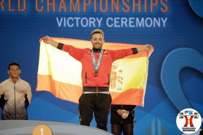 Josue Brachi - Mundial Anaheim 2017 - Bronce en arrancada