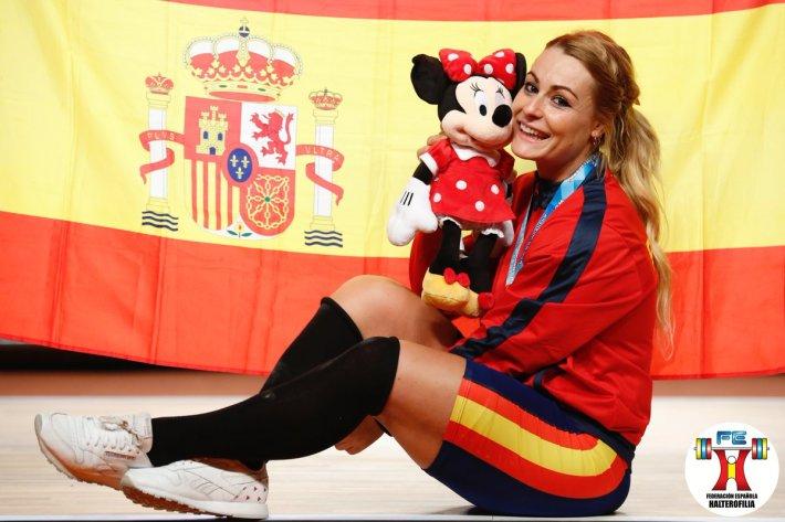 Lidia Valentin - Campeonato del Mundo Anaheim 2017