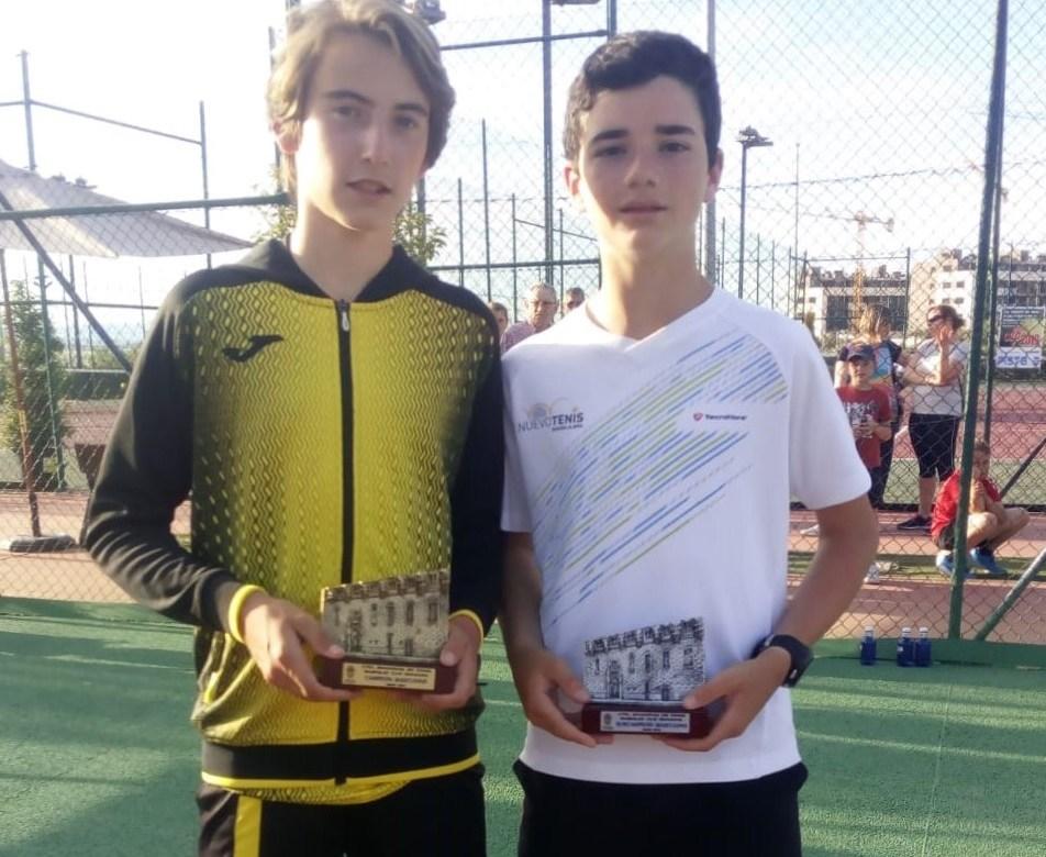 Rodrigo y Alonso babolat cup
