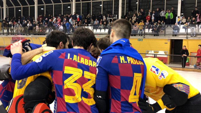 Rota igualdad Barça Liceo