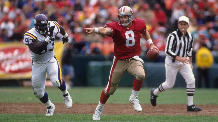 Steve Young quarterbacks