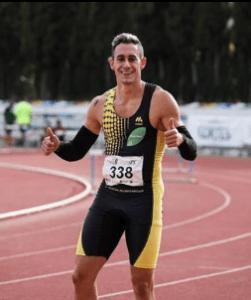 Sergio López Barranco, plusmarquista de 100 metros
