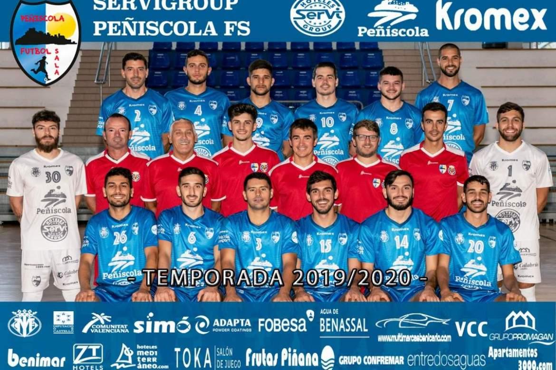 Plantilla del Peñíscola en la temporada 2019/2020