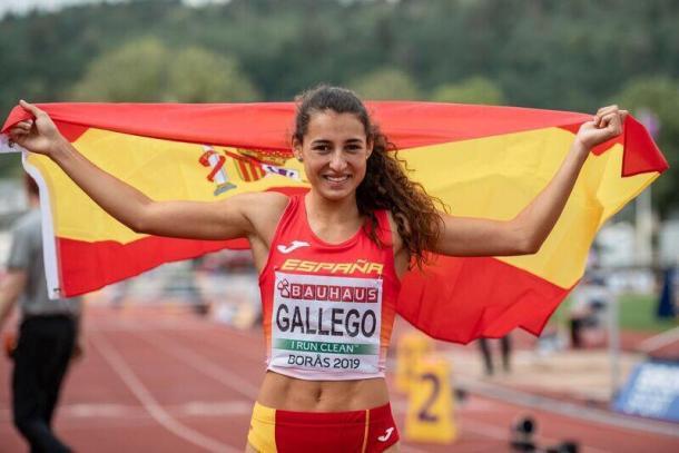 Sara Gallego, bronce en el Europeo sub20- Imagen de Sportmedia