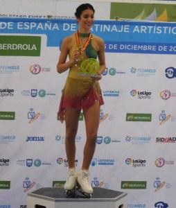 Valentina Matos, campeonato nacional 2019