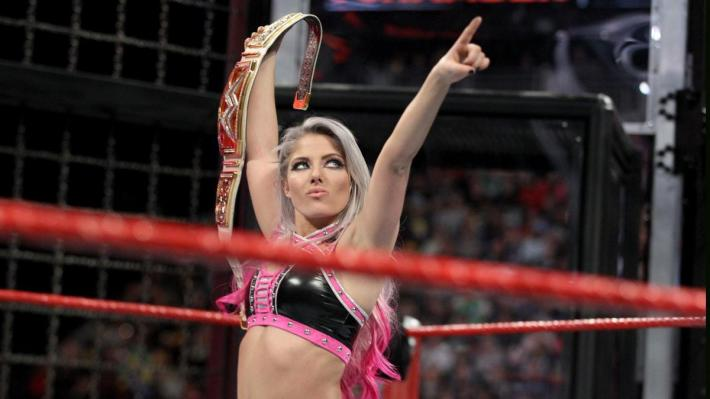Alexa Bliss Elimination Chamber