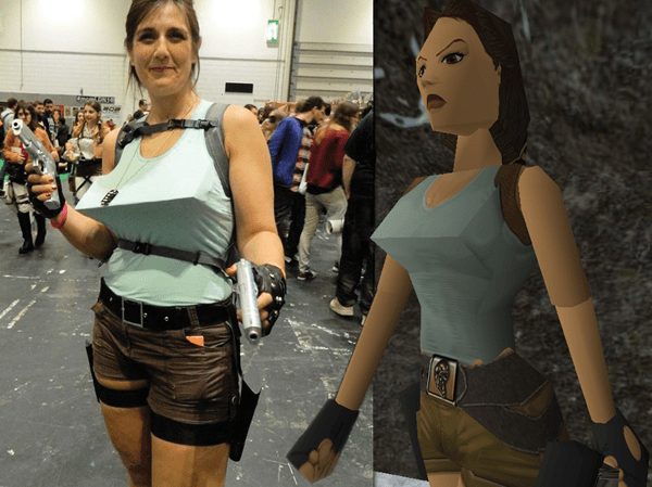 cosplay de lara croft