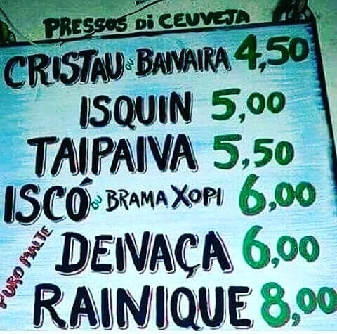 placas com erros de portugues