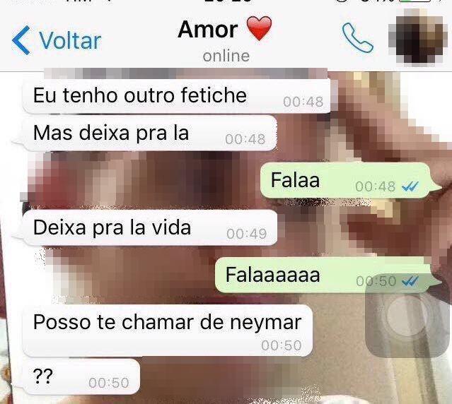 neymar fetiche