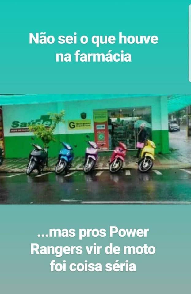 power ranger de moto