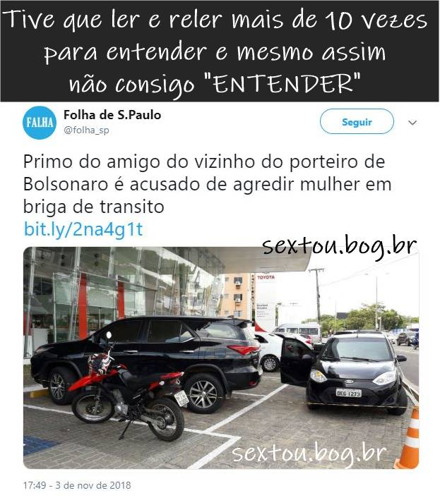 Trava-línguas bolsonaro