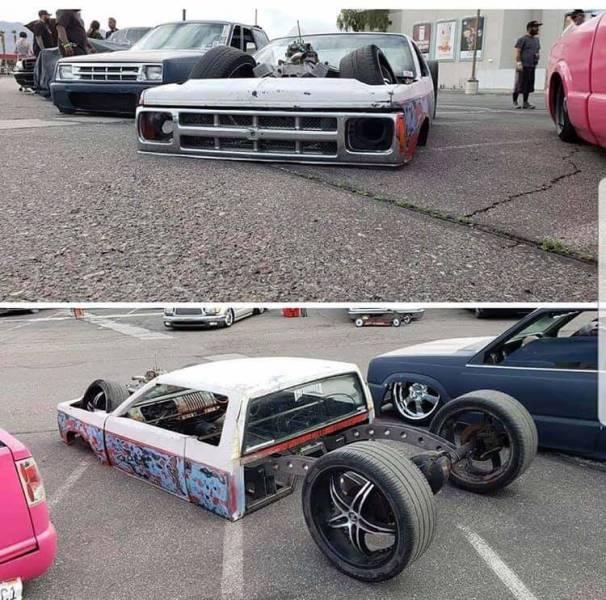 O carro mais rebaixado do mundo