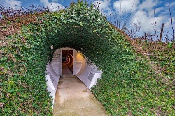 casa subterrânea