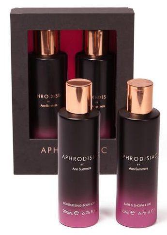 aphrodisiac bath and body set