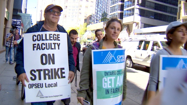 Read: Students rally in support of striking college faculty