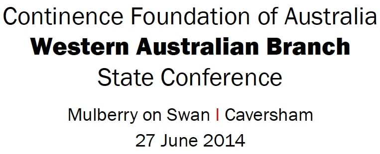 Continence Foundation of Australia West Australian Branch State Conference
