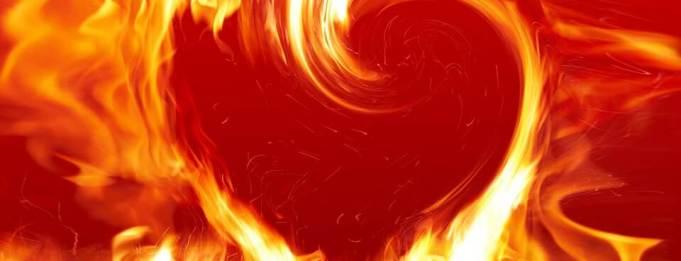 trucos corazón en llamas