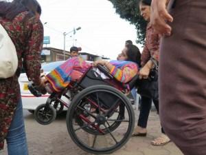 #DisabledWomenSay No To Divyang