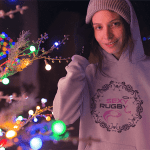 Boutique rugby Sweat-shirt rugby à capuche pour femme