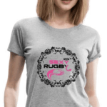 T-shirt rugby pour femmes