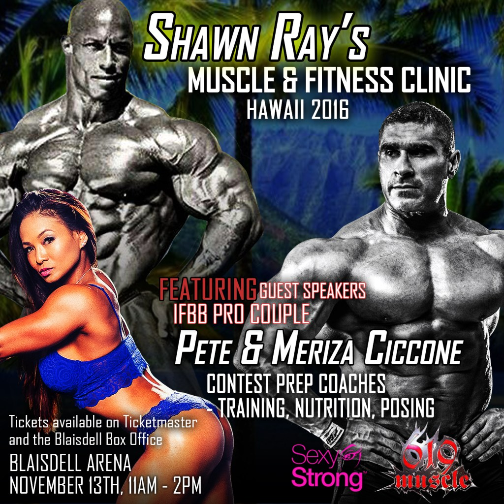 shawn ray sexy strong event