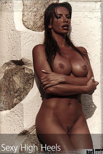 Francesca Felucci Nude Red Heels 03
