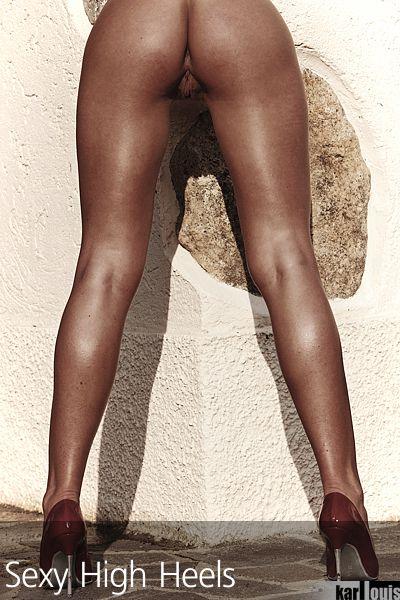 Francesca Felucci Nude Red Heels 08