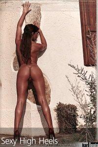 Francesca Felucci Nude Red Heels 09