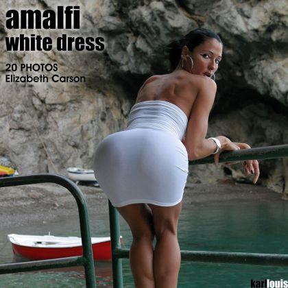 Elizabeth Carson - Amalfi White Dress