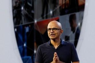 Chief Executive Officer Satya Nadella at Microsoft Ignite 2018