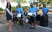 Afrika ist präsent auf dem Seychellen Carnaval 2016 -hier die Miss La Réunion
