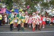 Kölner Karneval auf dem Carnaval International de Victoria auf den Seychellern