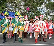 Kölner Jecken auf dem Seychellen Carnaval International de Victoria 2016
