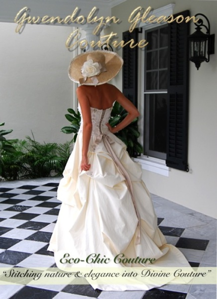 Wedding Gown By Gwendolyn Gleason