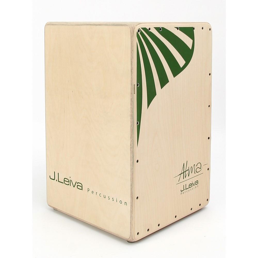 J. Leiva Cajon Alma green (oiled & waxed)