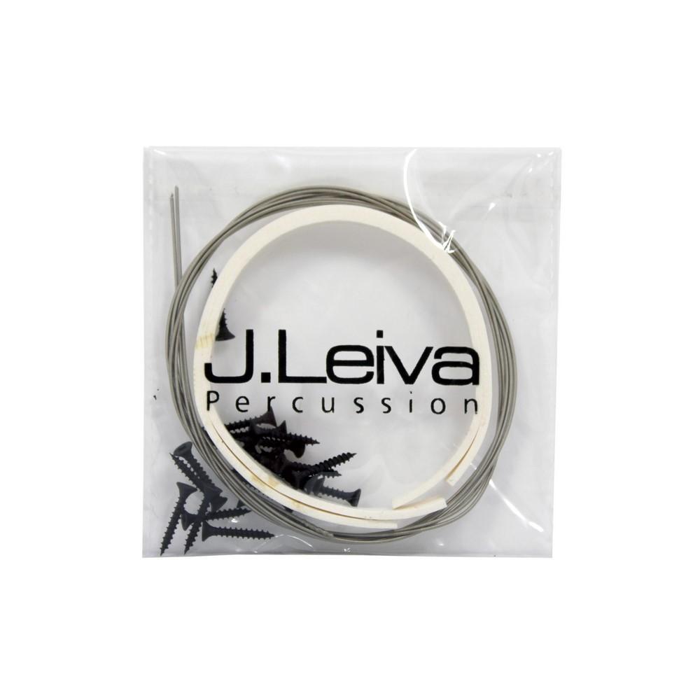 J. Leiva Cajon Repair Kit (Strings, Screws, Caoutchouc Spacers etc. )