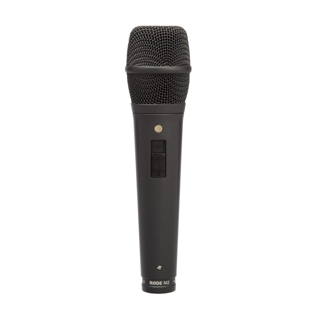 RODE M2 Microphone de scène avec switch, super-cardioÏde