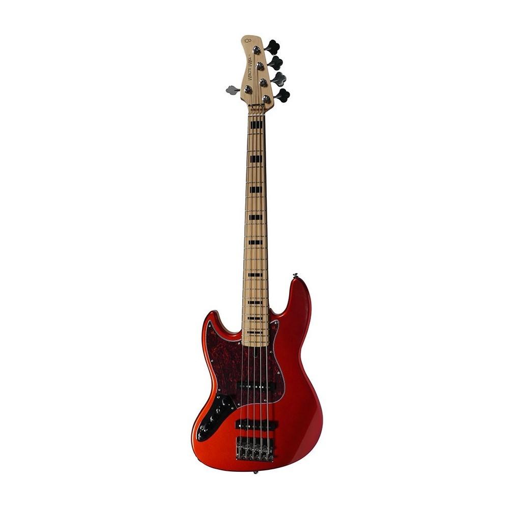 V7 Vintage Alder-5 LH BMR 2.0 Bright Metallic Red Gauchère