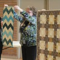 Moira's table runner and quilt