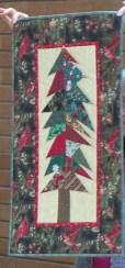 Carol's Christmas wallhanging