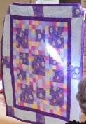 Elaine T's quilt - 'Frozen'