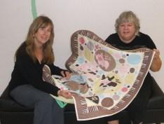 Linda with Lisa Hubbard, Executive Director of NSNH