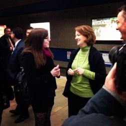 Meeting Premier Redford