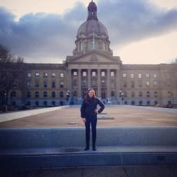 First visit to the Legislature