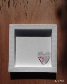 cadre carton coeur 4
