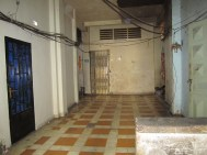 Just thought this was an interesting hallway. One of many we venture into finding lovely people to talk to! Its sad because it actually probably looked really cool and clean at one point in its life!
