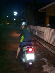 I will be buying a moto soon here in Cambodia so I test drove our rental in Thailand.