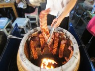 This was so cool how they were BBQing the ribs! Delicious too!!