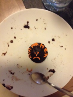 My last bad day cupcake! Scared me a little, this one was called DIARRHEA!!