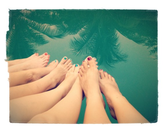 My bro and sister inlaw took us all to Kep and stayed at the Veranda again! What a treat!! Thanks again!!! Cute toes eh!?
